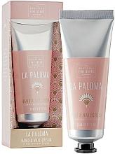 Parfüm, Parfüméria, kozmetikum Köröm- és kézkrém - Scottish Fine Soap La Paloma Hand & Nail Cream