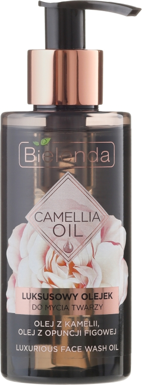 Arctisztító olaj - Bielenda Camellia Oil Luxurious Cleansing Oil