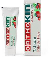 Parfüm, Parfüméria, kozmetikum Fogkrém fogszabályozóhoz - Kin Ortho Strawberry Mint Toothpaste