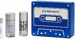 Parfüm, Parfüméria, kozmetikum Carolina Herrera 212 Men NYC - Szett (edt/100ml + deo/150ml + edt/10ml)