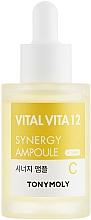 Parfüm, Parfüméria, kozmetikum Ampulla eszencia C vitaminnal - Tony Moly Vital Vita 12 Synergy Ampoule