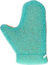 "Parfüm, Parfüméria, kozmetikum Masszázskesztyű ""Aqua"", 6021, zöld-narancssárga - Donegal Aqua Massage Glove"