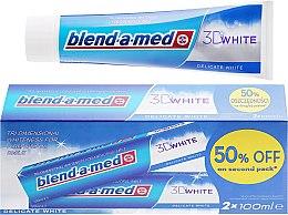 """Parfüm, Parfüméria, kozmetikum Fogkrém készlet """"Finom fehérítés"""" - Blend-a-med 3D White Delicate White Toothpaste"""
