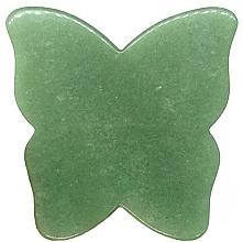 Parfüm, Parfüméria, kozmetikum Arcmasszírozó - Crystallove Butterfly Aventurine Gua Sha