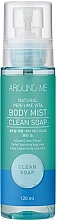 Parfüm, Parfüméria, kozmetikum Mist - Welcos Around Me Natural Perfume Vita Body Mist Clean Soap