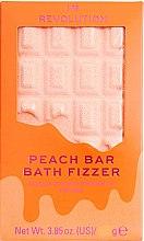 "Parfüm, Parfüméria, kozmetikum Fürdőgolyó - I Heart Revolution Chocolate Bar Bath Fizzer ""Peach"""
