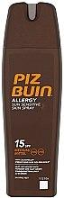 Parfüm, Parfüméria, kozmetikum Napvédő permet - Piz Buin Allergy Sun Sensitive Skin Spray SPF15