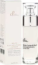 Parfüm, Parfüméria, kozmetikum Bőrélénkítő krém szemre - Sayaz Cosmetics White Caviar Illuminating Moisturizing Eye Cream 24H
