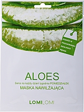 Parfüm, Parfüméria, kozmetikum Aloe arcmaszk - LomiLomi Mask Aloe