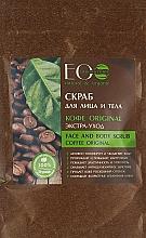 """Parfüm, Parfüméria, kozmetikum Arc és testradír """"Kávé Original"""" - ECO Laboratorie Face and Body Scrub Coffee Original"""