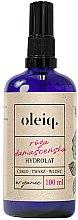 Parfüm, Parfüméria, kozmetikum Damaszkuszi rózsa hidrolát arcra, testre és hajra - Oleiq Damask Rose Hydrolat