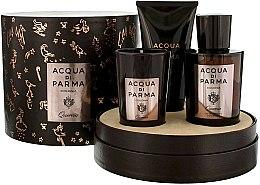 Parfüm, Parfüméria, kozmetikum Acqua di Parma Colonia Quercia - Szett (edc/100ml + candle/65g + sh/gel/75ml)