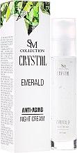 Parfüm, Parfüméria, kozmetikum Ránctalanító nappali krém - SM Collection Crystal Emerald Anti-Aging Night Cream