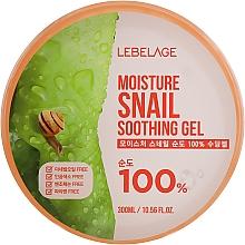 Parfüm, Parfüméria, kozmetikum Többfunkciós hidratáló gél arcra és testre csiga mucinnal - Lebelage Moisture Snail 100% Soothing Gel