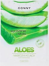 "Parfüm, Parfüméria, kozmetikum ""Aloe vera"" arcmaszk - Conny Aloe Essence Mask"