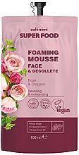 """Parfüm, Parfüméria, kozmetikum Habzó krém-mousse arcra és dekoltázsra """"Rózsa és oregano"""" - Cafe Mimi Super Food"""