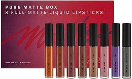 Parfüm, Parfüméria, kozmetikum Matt ajakrúzs szett - Zoeva Pure Matte Box (lipstick/8x6ml) (8 x 6 ml)