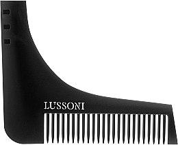Parfüm, Parfüméria, kozmetikum Szakállfésű - Lussoni BC 600 Barber Comb