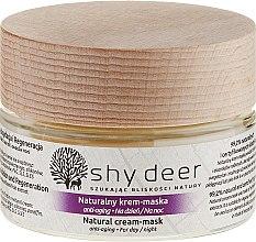 Parfüm, Parfüméria, kozmetikum Öregedés elleni krém maszk - Shy Deer Natural Cream-mask