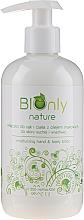 Parfüm, Parfüméria, kozmetikum Hidratáló kézlotion pitypang olajjal - BIOnly Nature Moisturizing Hand & Body Lotion