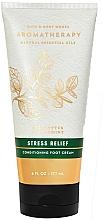 """Parfüm, Parfüméria, kozmetikum Lábkrém """"Eukaliptusz és menta"""" - Bath and Body Works Stress Relief Eucalyptus Spearmint Conditioning Foot Cream"""