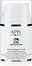 Parfüm, Parfüméria, kozmetikum Szemkörnyékápoló szérum - APIS Professional Express Lifting Brightening Filling Wrinkle Serum With Tens UP