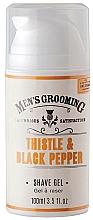 Parfüm, Parfüméria, kozmetikum Borotválkozó gél - Scottish Fine Soaps Men's Grooming Thistle & Black Pepper Shaving Gel
