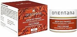 """Parfüm, Parfüméria, kozmetikum """"Szantálfa és kurkuma"""" arckrém - Orientana Face Cream Sandalwood & Turmeric"""
