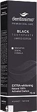 """Parfüm, Parfüméria, kozmetikum Fogkrém """"Természetes fehérítés"""" - Dentissimo Extra Whitening Black"""