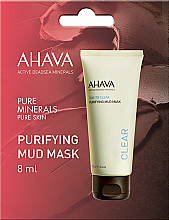 Parfüm, Parfüméria, kozmetikum Sármaszk arcra - Ahava Time To Clear Purifying Mud Mask (minta)