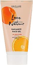 """Parfüm, Parfüméria, kozmetikum Tonizáló gél arcra """"Sárgabarack és narancs"""" - Oriflame Love Nature Radiance Face Gel"""