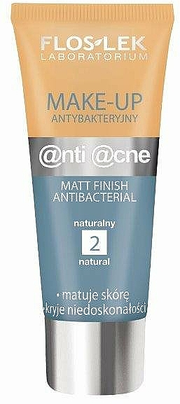 Antibakteriális mattító krém - Floslek Anti Acne Make Up