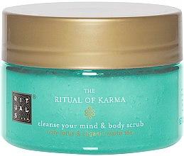 Parfüm, Parfüméria, kozmetikum Testradír - Rituals The Ritual of Karma Body Scrub