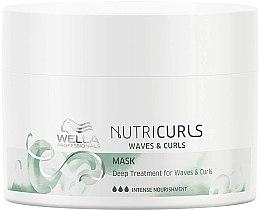 Parfüm, Parfüméria, kozmetikum Intenzív tápláló maszk hullámos hajra - Wella Professionals Nutricurls Mask