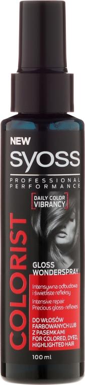 Ápoló spray festett hajra - Syoss Colorist Gloss Wonderspray Hair Spray