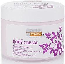 Parfüm, Parfüméria, kozmetikum Testkrém rózsa és ibolya kivonattal - Natura Estonica Violet Rose Body Cream