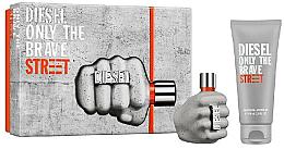 Parfüm, Parfüméria, kozmetikum Diesel Only The Brave Street - Szett (edt/35ml + Sh/gel/50ml)