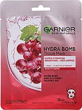 """Parfüm, Parfüméria, kozmetikum Anyagmaszk arcra """"Hidratálás + Simítás"""" - Garnier Skin Naturals Hydra Bomb"""
