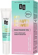 Parfüm, Parfüméria, kozmetikum Simító szérum-booster arcra - AA My Beauty Power Niacinamide 10% Smoothing Serum-Booster