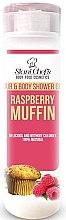 Parfüm, Parfüméria, kozmetikum Haj- és testápoló gél - Hristina Stani Chef's Hair And Body Shower Gel Raspberry Muffin