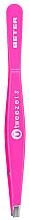 Parfüm, Parfüméria, kozmetikum Egyenes szemöldökcsipesz, rózsaszín - Beter