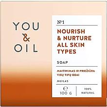Parfüm, Parfüméria, kozmetikum Tápláló szappan minden bőrtípúsra - You & Oil Nourish & Nurture All Skin Types