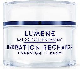 Parfüm, Parfüméria, kozmetikum Hidratáló és regeneráló éjszakai arckrém - Lumene Lahde Hydration Recharge Overnight Cream