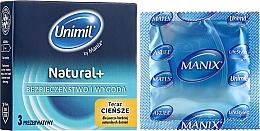 Parfüm, Parfüméria, kozmetikum Óvszer, 3db - Unimil Natural