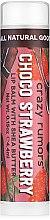 Parfüm, Parfüméria, kozmetikum Ajakápoló balzsam - Crazy Rumors Chocolate Strawberry Lip Balm