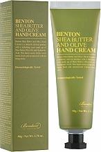 Parfüm, Parfüméria, kozmetikum Kézkrém sheavajjal és olívával - Benton Shea Butter and Olive