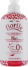 "Parfüm, Parfüméria, kozmetikum Folyékony szappan ""Gránátalma"" - Parisienne Italia Fiorile Pomergranate Liquid Soap"