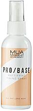 Parfüm, Parfüméria, kozmetikum Matt fixáló spray - MUA Pro Base Mattifying Fixing Spray
