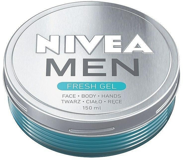 Hidratáló krém-gél arcra és testre - Nivea Men Fresh Gel