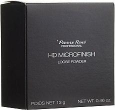 Parfüm, Parfüméria, kozmetikum Porpúder HD-hatással - Pierre Rene Professional HD Microfinish Loose Powder